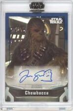2021 Star Wars Signature Series Autograph - Joonas Suotamo as Chewbacca #12/50