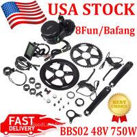 BBS02 48V 750W 8fun Bafang Mid Drive Motor Electric Bike Conversion Kit BB:68mm