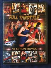 Full Throttle 10 Action Movies (DVD) FREE SHIPPING!!!