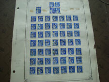 FRANCE - timbre yvert  et tellier n° 368 x54 obl (br1) stamp french