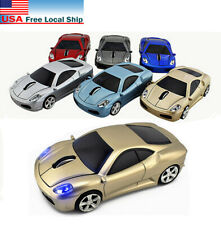 Gift USB Wireless Car Optical mouse Gaming Mice 2.4G Light LED for Laptop PC MAC