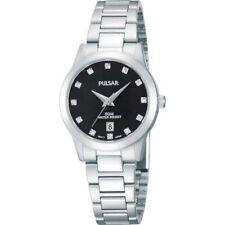 Pulsar Black Dial Stainless Steel Strap Ladies' Watch PH7277X1 RRP £130