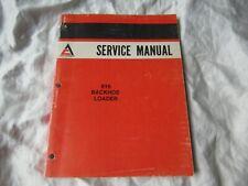 Allis-Chalmers 816 backhoe loader service manual shop manual