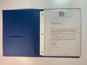 RARE Rock Hudson Certified Memorabilia from his Personal Estate