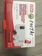 era smartphone gsm/sms comunicating alarm system with rfid