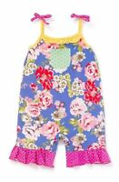 Matilda Jane SUMMER ADVENTURE Romper Size 18-24 Months Girl New In Bag Floral