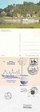 DS Meissen tedesco DAY CRUISER un colore cartolina navi una carta inserita nella CACHE & CACHE COV
