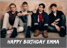 The Vamps Personalised Birthday Card A5 Any Wording