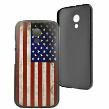 Retro Style Hard Plastic Cover Case Skin For Motorola Moto G 2nd Gen 2014 XT1068