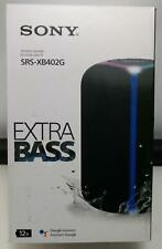 New SONY SRS-XB402G Extra Bass Google Assistant Built-in BlueTooth Speaker