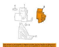 Cadillac GM OEM 05-07 CTS ABS Anti-Lock Brake System-Control Module 89060294