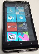 HTC HD 7 - 8GB - Black (T-Mobile) Smartphone - Bad LCD Cracked Glass