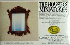 HOUSE OF MINIATURES CHIPPENDALE LOOKING GLASS DOLLHOUSE MINIATURE KIT, NEW!