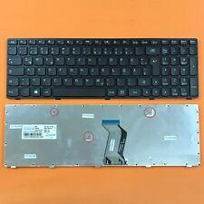 DE - schwarz Tastatur version 2 komp. für IBM Lenovo Ideapad G500, G505, G510