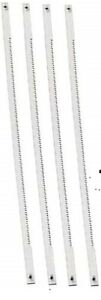 """NEW Stanley TOOLS PK (4) 15-059  6.5"""" Steel Coping Saw Blades  20 TPI 6243463"""