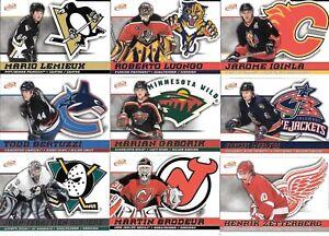 U PICK (4) CARD LOT 2003-04 03-04 McDonalds Pacific Atomic Base Hockey Roots set