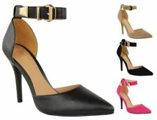 Stiletto Suede Court Casual Heels for Women