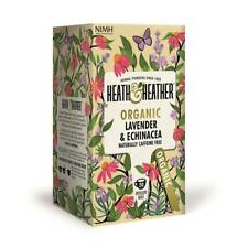 💚 Heath & Heather Organic Lavender & Echinacea Infusion 20 bags