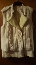 TWELFTH STREET BY CYNTHIA VINCENT Vest M Medium Wool Angora Cashmere Jacket