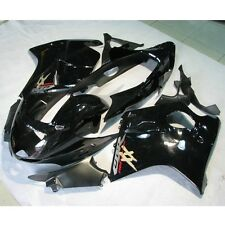 Black Fairing Bodywork Kit For Honda CBR1100XX Blackbird 97-07 98 99 2000 01 02