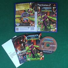 (PS2) LA FABBRICA DI CIOCCOLATO (ITA 2005) PlayStation 2 + Manuale Libretto