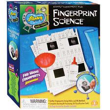 FINGERPRINT SCIENCE - FIND HIDDEN FINGERPRINTS - SLINKY MINI LAB SCIENCE KIT