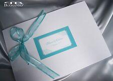 GUEST BOOK nozze matrimonio VERDE TIFFANY con cristalli STRASS Buonanno sposi