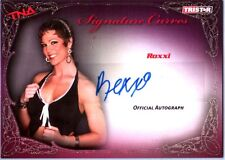 TNA Roxxi 2009 Knockouts GOLD Authentic Autograph Card SN 48 of 75