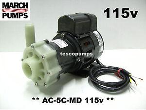 March pump AC-5C-MD 115v 50/60 hz 0150-0026-0100 PMA1000