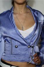 CNC Costume National Damen Glanz Blazer Jacke Mantel 36 S