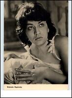 DDR Starfoto Kino Fernsehen Film Schauspielerin Actress 1963 Elbieta Kepinska