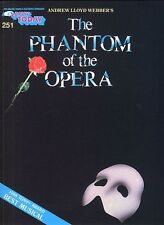 Phantom Of The Opera Learn to Play Beginner Easy Piano Guitar Music Book