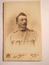 Weyer a. E. - OÖ - Soldat in Uniform - Portrait / CDV