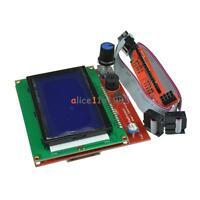12864 Display LCD  3D Printer Controller +Adapter For RAMPS 1.4 Reprap Mendel