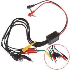 1pc Alligator Clips Banana Plug Connection Port Power Supply Test Lead Cable Sm