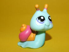 P2) Littlest Pet Shop LPS Hasbro - Snail erwachsene Schnecke mint grün 1529