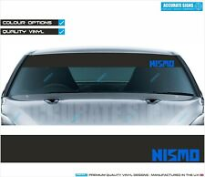 WINDSCREEN BANNER SUNSTRIP NISMO STICKER DECAL