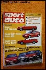 Sport Auto 6/91 Kadett GSI 16V Golf GTI G60 Toyota