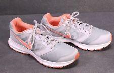 Sb145 nike downshifter 6 cortos calzado deportivo talla 41 gris salmón zapatillas