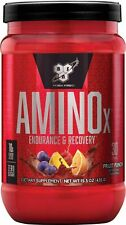 BSN Amino X Muscle Recovery & Endurance Powder, Fruit Punch, 30 Servings