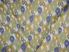 1-1/8Y KRAVET / LEE JOFA LAPIS BLUE ANATOLIAN IKAT BROCADE UPHOLSTERY FABRIC