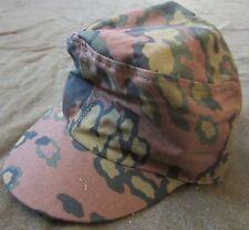 WWII GERMAN WAFFEN INFANTRY M43 OAK B CAMO COMBAT FIELD CAP-MEDIUM