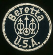 Brand new Beretta USA embroidery patch iron on jacket NOS