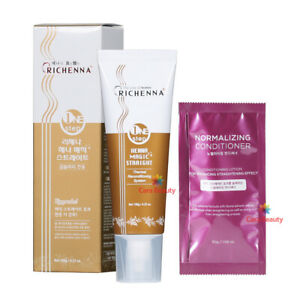 RICHENNA ONE STEP HENNA MAGIC STRAIGHT 120g / No 2nd Cream, Less hair damage