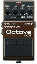 Boss Oc-5 Octave Pedal Effects Unit for Guitar and Bass
