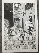 Raymond Pettibon Captive Chains Zine Comic Book Rare
