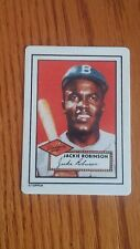 1990 Hamilton Collection JACKIE ROBINSON Topps Porcelain Baseball Card