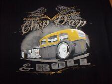 RAT ROD Chop Drop n ROLL black 2XL t shirt