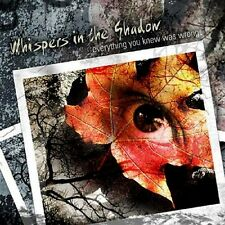 WHISPERS IN THE SHADOW Everything you knew was wrong - 2CD
