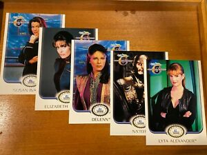 """Babylon 5- 5x7"""" Limited Edition of 999-Rittenhouse Archives Edition 2001-RARE!"""